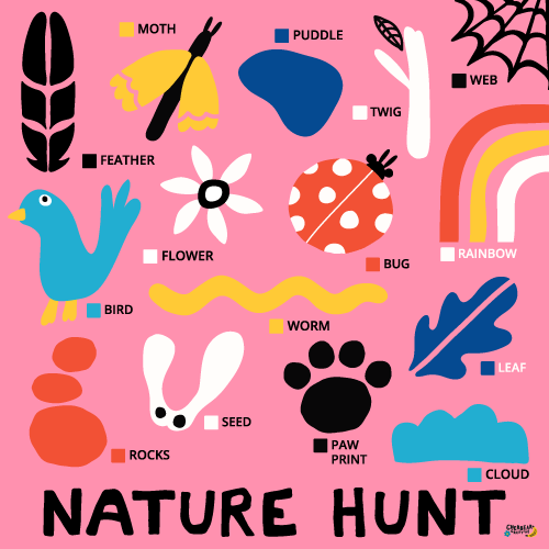Nature Hunt by Cherbear Creative Studio