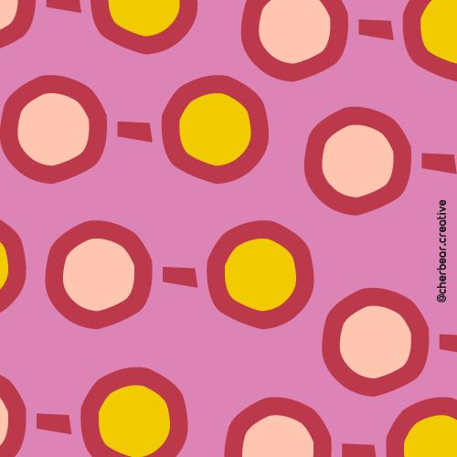 Sunglasses Pattern by Cherbear Creative Studio